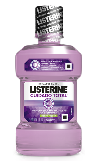 Enjuague bucal LISTERINE® Cuidado Total