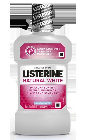 Enjuague bucal LISTERINE® Whitening Blanquea y Fortalece
